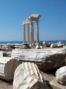 Turecko - Side, Apollonov chrám