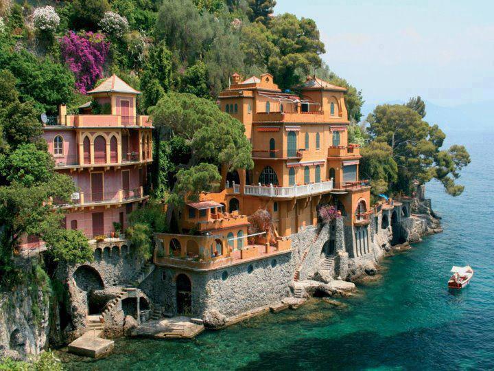 Taliansko - dedinka Portofino