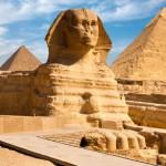 Veľká Sfinga v Egypte