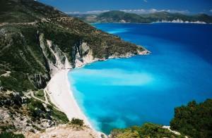 Grécko - priezračné more, zátoka