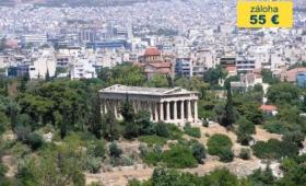 Řecko – velký okruh – letecky