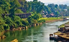 Veľký okruh stredným Thajskom