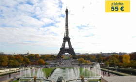 Paříž – prodloužený víkend