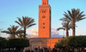 Velký okruh Marokem – letecky