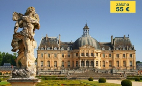 To nejlepší z Paříže + FONTAINEBLEAU + VAUX-LE-VICOMTE (letecky z Prahy)