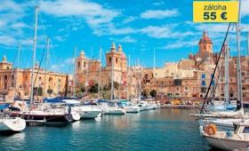 Nejhezčí místa Malty – Hotel 4* Qawra Palace