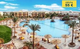 Egypt lodí po Nilu s pobytem u moře, Hotel Desert Rose Resort