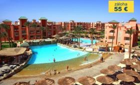 Malý okruh Egyptem s koupáním v Hurghadě, Hotelový komplex Albatros Aqua Blu/Albatros Aqua Park