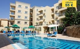 Malý okruh Egyptem s koupáním v Hurghadě, Hotel Elysees