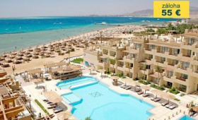 Malý okruh Egyptem s koupáním v Hurghadě, Hotel Imperial Shams Abu Soma Resort