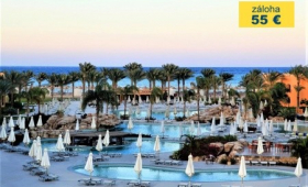 Malý okruh Egyptem s koupáním v Hurghadě, Hotel Stella Di Mare Beach & Spa