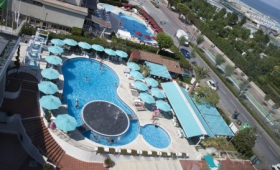 Resort Airone S Bazénem Pig- Sottomarina Lido